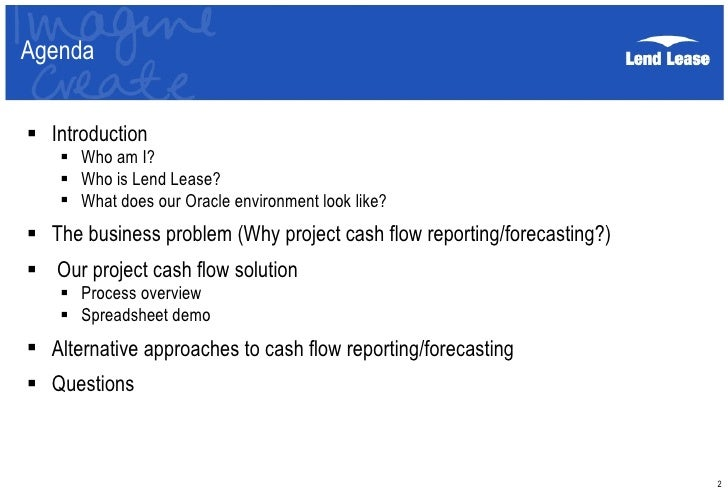 insync 10 project cashflow report presentation aug10 1