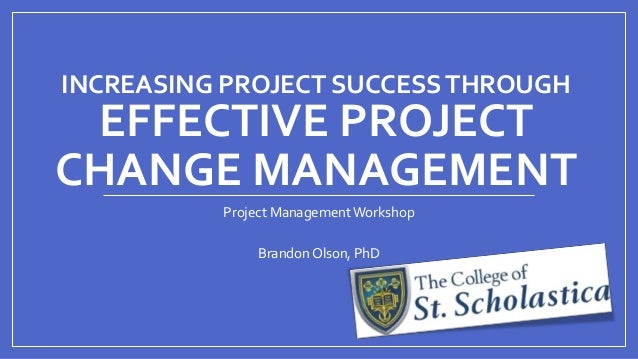 effective project You know you need to establish some centralized control over projects, but you need management support to make it happen this presentation defines various.