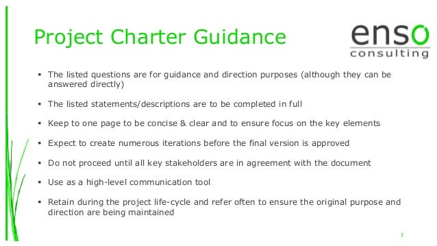 Lean) Six Sigma Project Charter Template