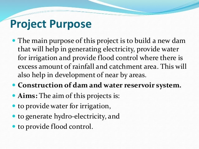 project charter purpose Provide a simple but precise statement of the project example 1: rice university is planning to create a store to sell computer supplies this project charter outlines the purpose, objectives, and scope of the project the purpose of a project charter is: to provide an understanding of the project.