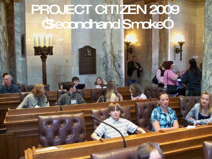 """PROJECT CITIZEN 2009 """"Secondhand Smoke"""""""