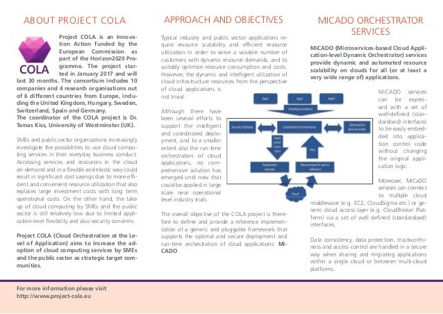 Project COLA - Project Flyer EN Web Slide 2