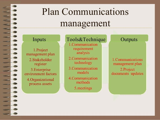 communication management Through the ma in communication management, you'll learn the art and science of powerful communication that persuades your audience to take desired actions master's degree or graduate certificates available 100% online or evenings.