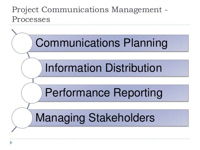 Project Communications Management - Information Technology