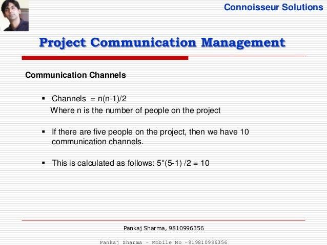 project communication management pmbok pdf