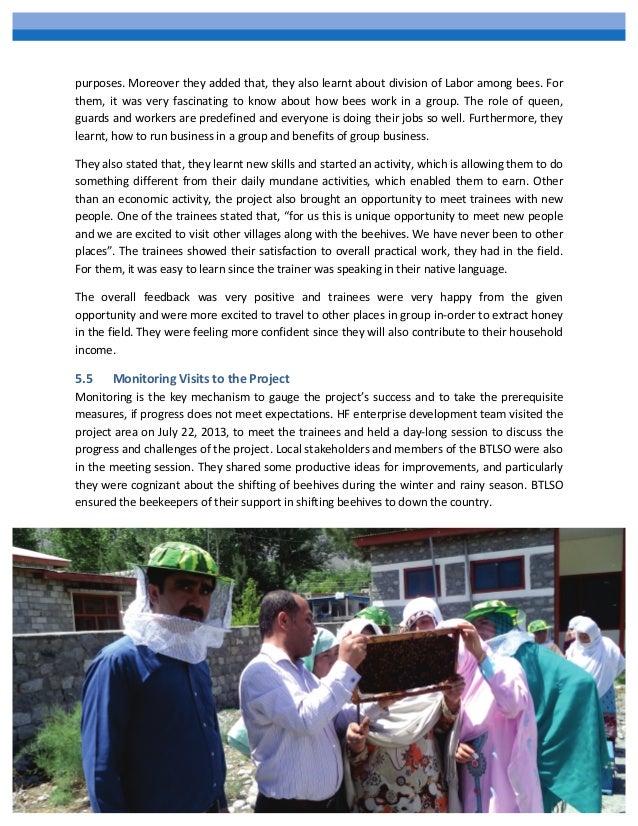 Empowering Women through Honey Bee Farming in Ghakuch Balla