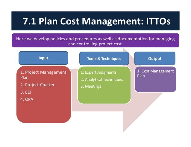 cost control business plan