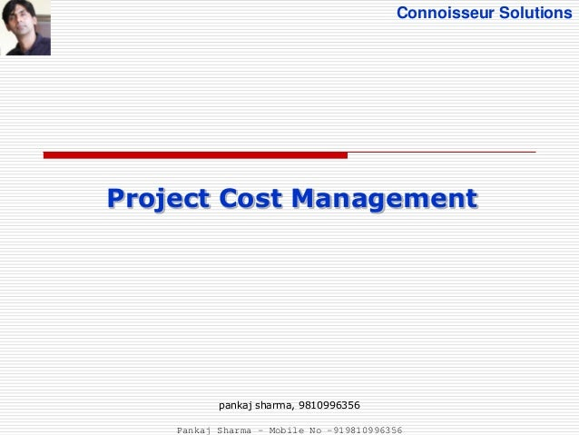 Project cost management PMBOK 5th Edition