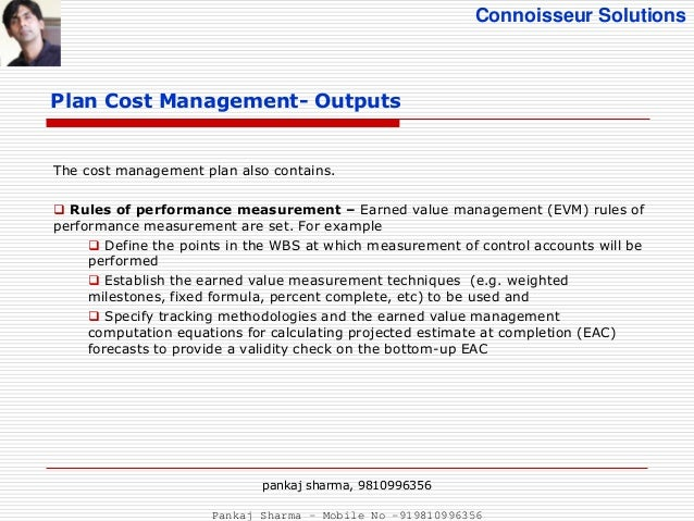 Solution to cost mgt ch13