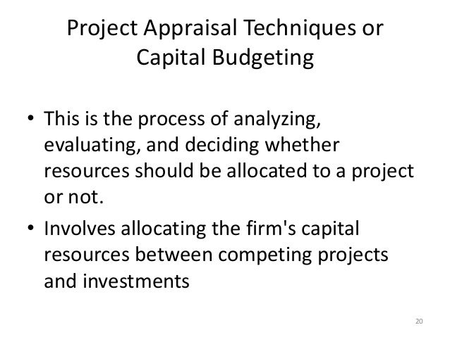 techniques of project appraisal 1 non-financial analysis in project appraisal – an empirical study nuno moutinho θ estig, polytechnic institute of bragança campus de santa apolónia, apartado 134.