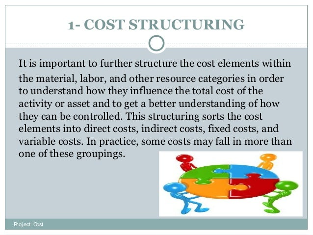 Project cost stimating
