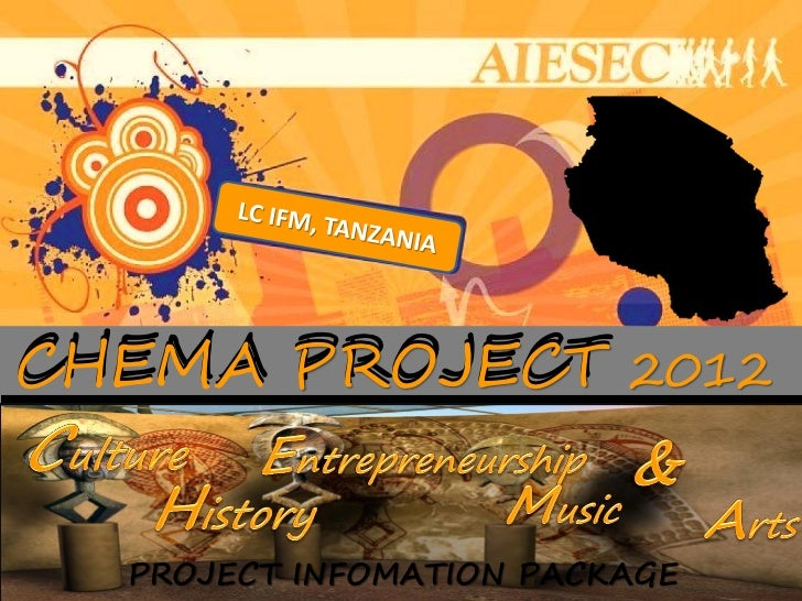 CHEMA PROJECT 2012  PROJECT INFOMATION PACKAGE