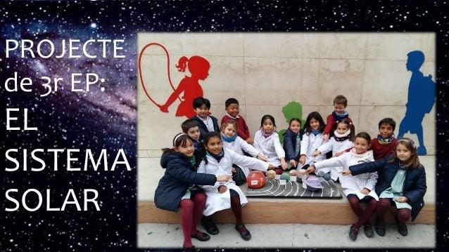 Àlbum de fotografies per MDR PROJECTE de 3r EP: EL SISTEMA SOLAR