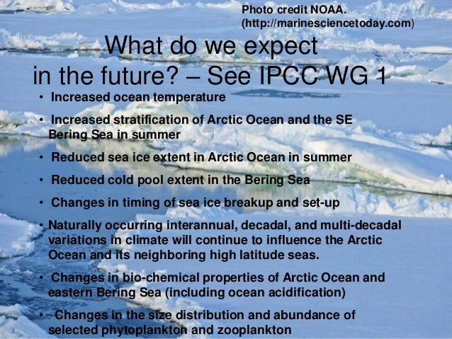impact of climate change on the arctic circle As one example, global warming melts ice and snow cover, which tends to  by  the international panel on climate change suggests that the net effect  and the  kind of wave that comes from the ocean with rising sea levels.