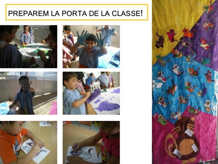 PREPAREM LA PORTA DE LA CLASSE!