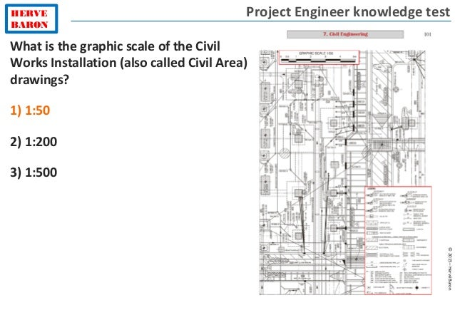 Project engineer test level 3