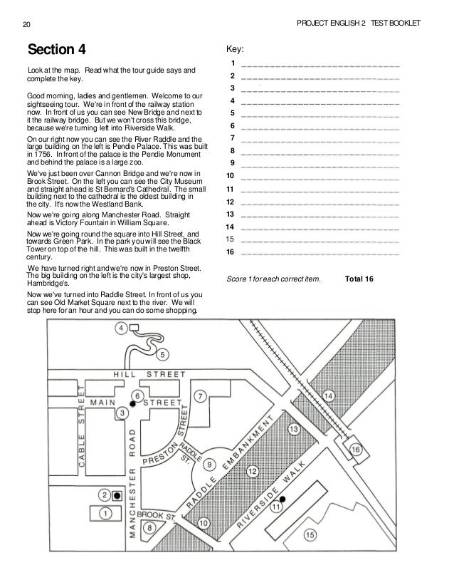 Project english _2_test_book