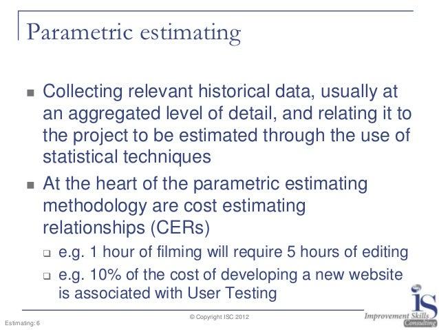 Project estimating solutioingenieria Gallery