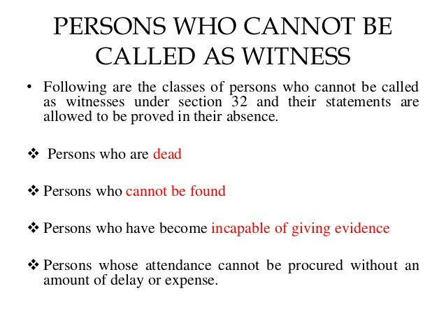 Section 32 of the Indian Evidence Act Slide 3