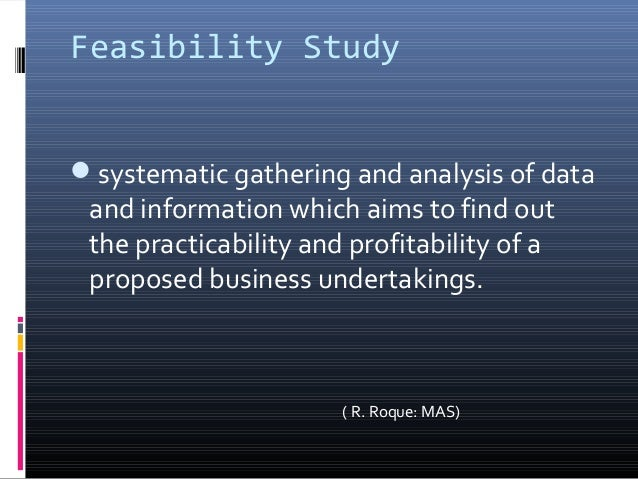 What is the difference between the financial feasibility ...