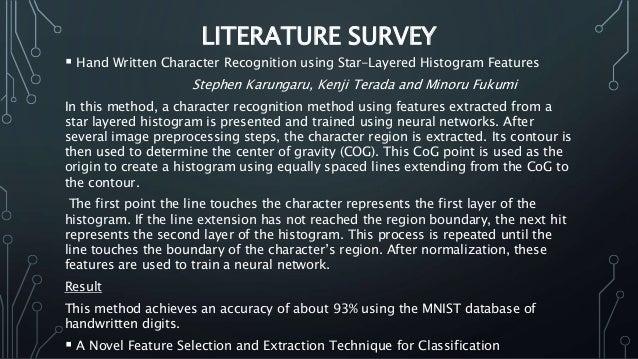 HANDWRITTEN DIGIT RECOGNITION USING k-NN CLASSIFIER