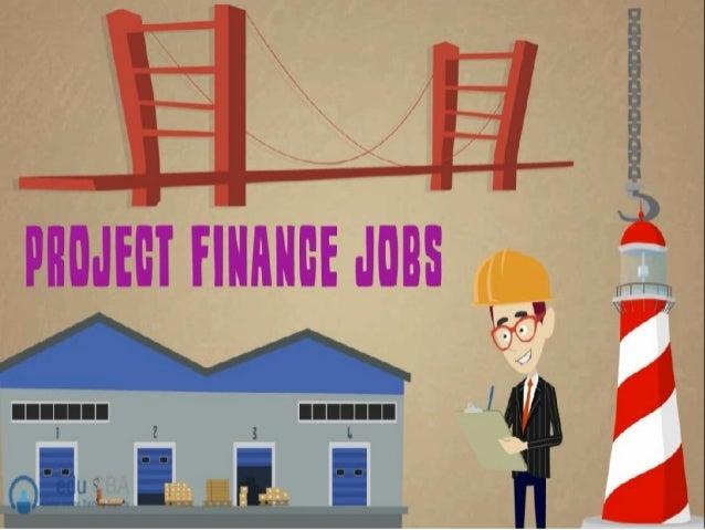 Project finance jobs
