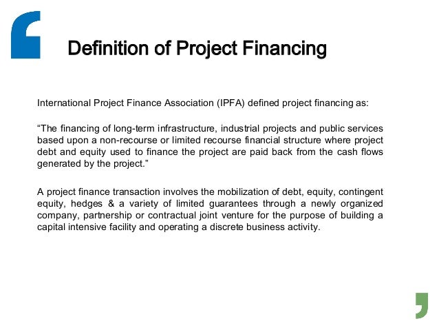 financing the mozal project essay It is june 1997, and a team from the international finance corp (ifc) is recommending that the board approve a $120 million investment in a $14 billion aluminum smelter in mozambique, known as the mozal project.