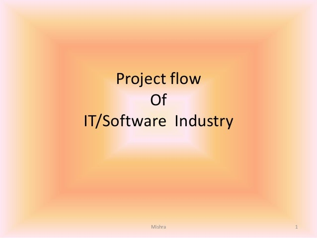Project flow Of IT/Software Industry 1Mishra