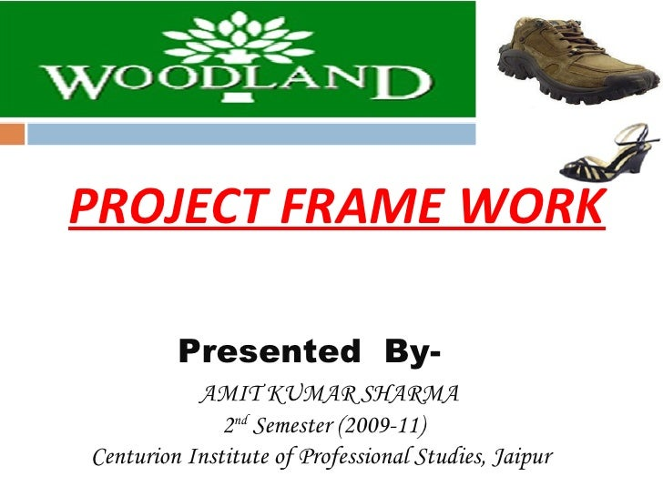 PROJECT FRAME WORK Presented  By-  AMIT KUMAR SHARMA 2 nd  Semester (2009-11) Centurion Institute of Professional Studies,...