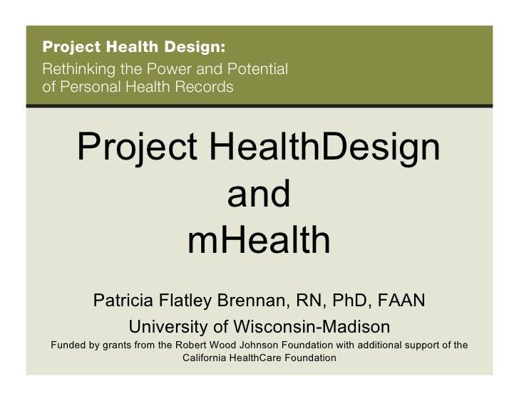 Project Health Design.Brennan