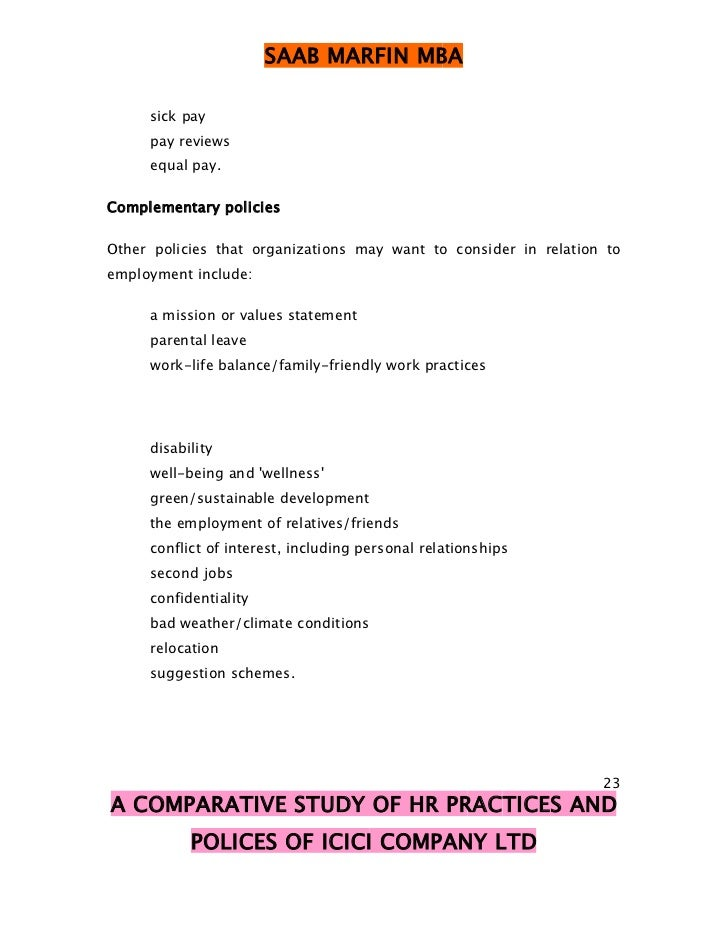 comparative study of hr practices in Through this study, the authors bring out certain significant differences in the adoption of human resource management (hrm) practices and advanced technology of small manufacturing firms with and without iso 9000 certification.