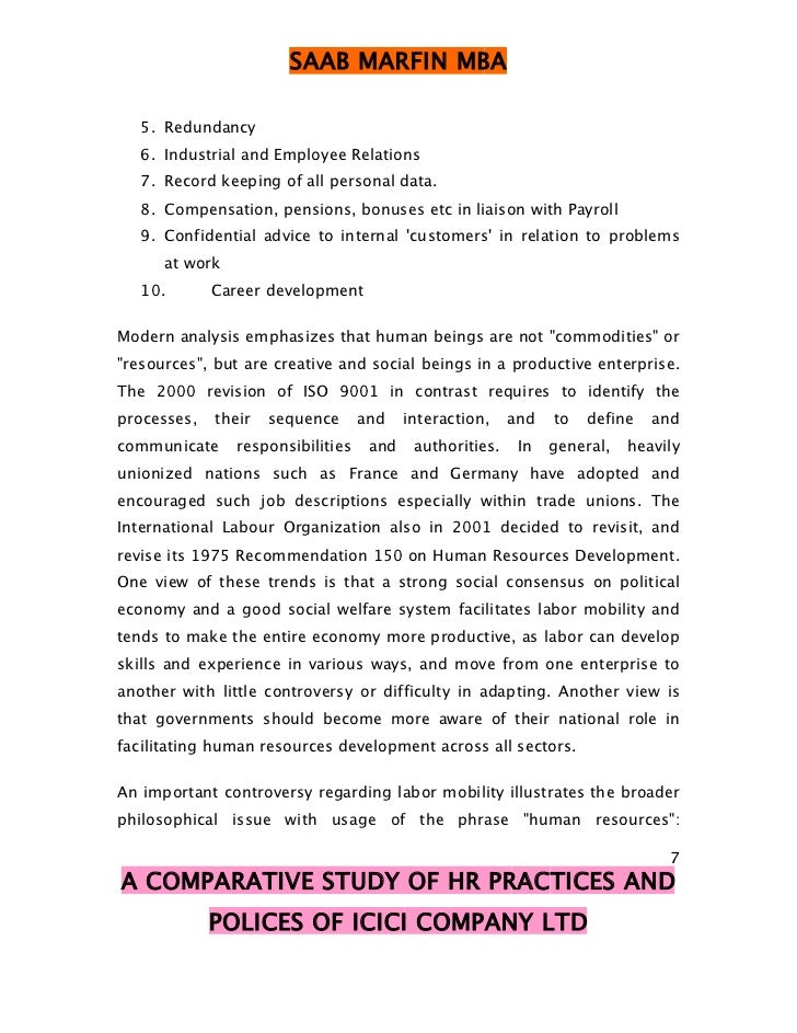 comparative study of hr practices in A comparative study muhammad zafar iqbal  in order to evaluate the links between human resource management practices and the performance of taiwanese  investigate the hrm practices in public and private universities so as to suggest remediation strategies to raise the.
