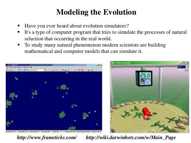 Computer Program Simulate Natural Selection