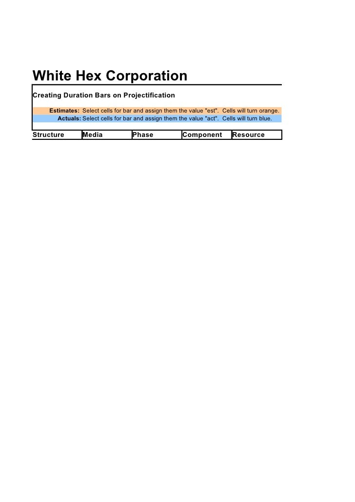 Projectification By White Hex Corporation