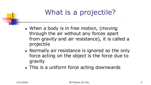 how to find time in projectile motion