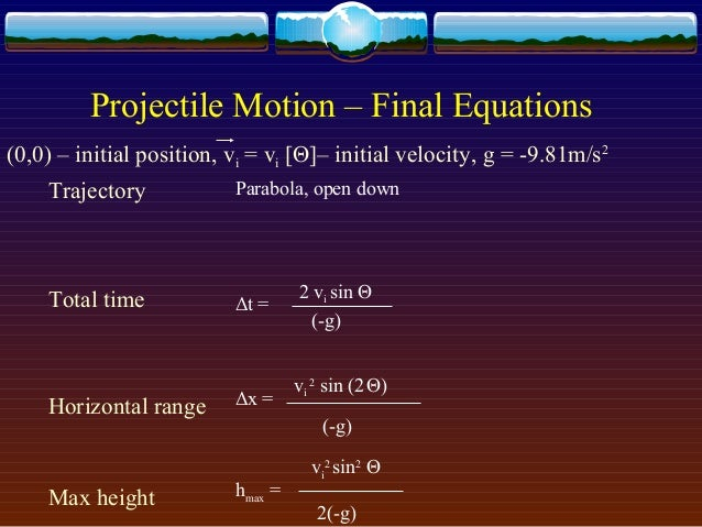 projectile motion coursework Stpm physics experiment 2 projectile (first term) 2012 - free download as pdf file (pdf), text file (txt) or read online for free physics experiment for form 6 (2012)\ i've done this experiment on my own and i hope no one re-uploads this and needless to mention, selling this sorry for any inconvenience cause due to the missing graph.
