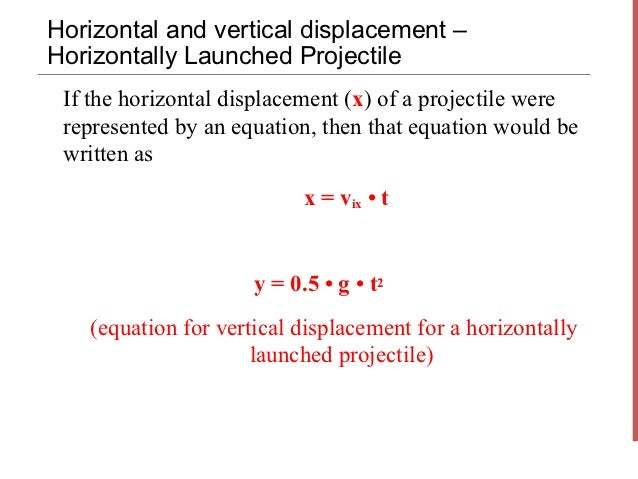 Projectile motion 2