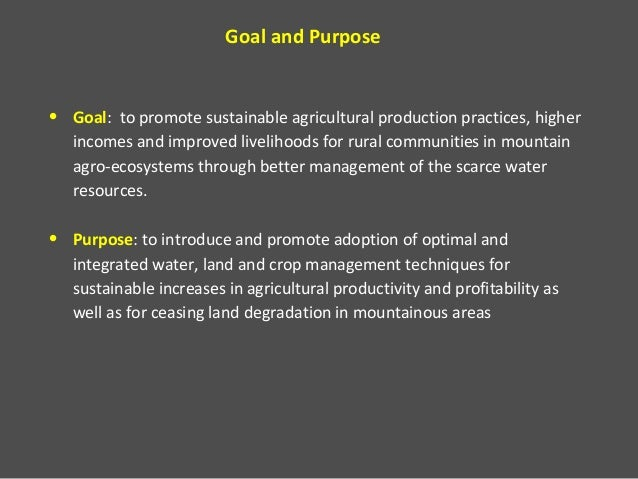 Project improved water management for sustainable mountain agriculture jordan, lebanon and morocco  Slide 2