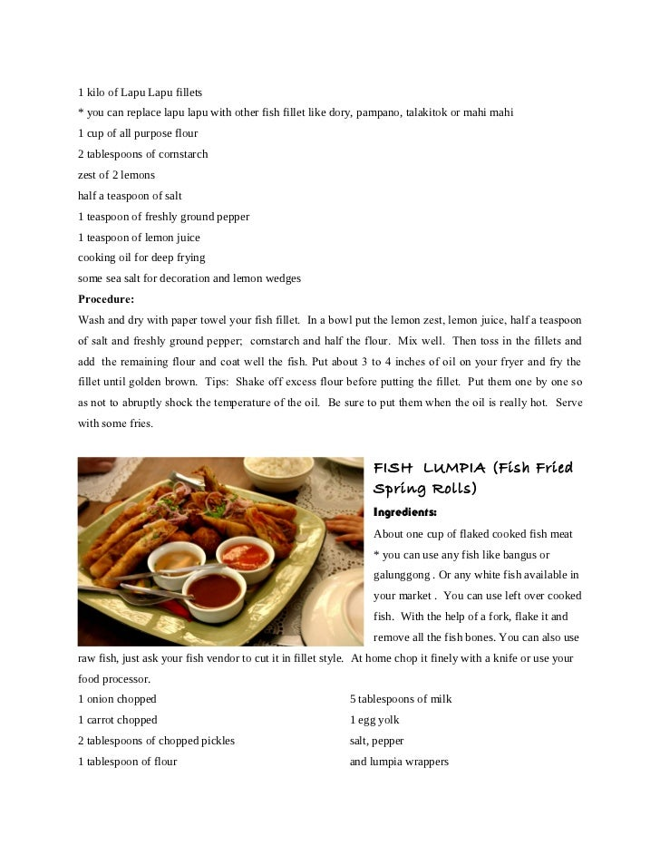 Menudo recipe and procedure for Canape recipes with ingredients and procedure