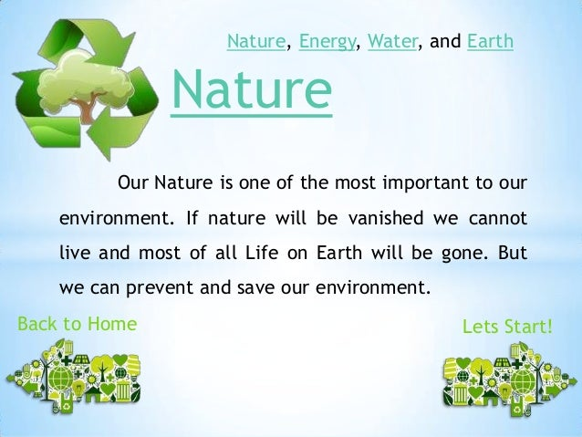 what can you do to save the environment