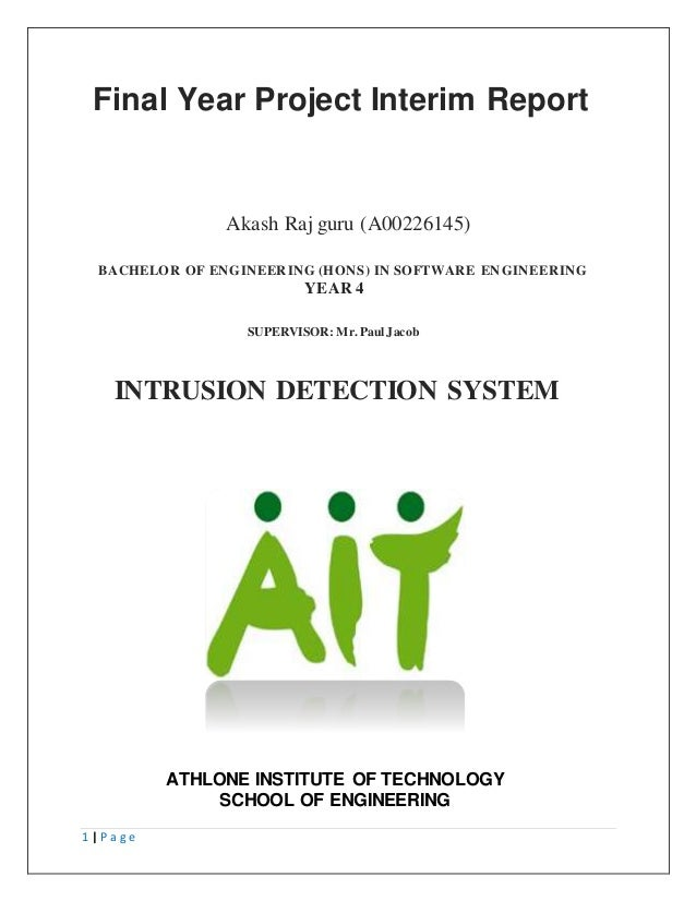 Fyp interim report
