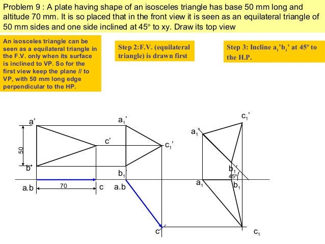 how to draw a hexagonal pyramid step by step