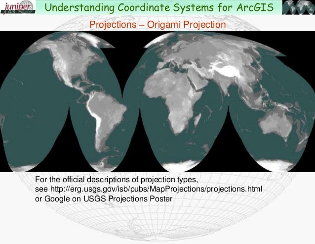 projected coordinate system