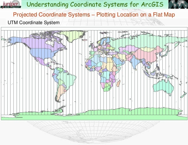 Understanding coordinate systems and projections for arcgis map understanding coordinate systems for arcgis 55 gumiabroncs Images