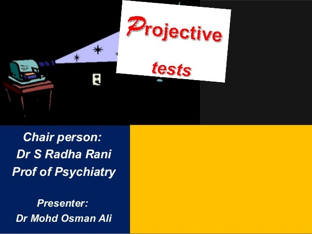 Chair person: Dr S Radha Rani Prof of Psychiatry Presenter: Dr Mohd Osman Ali