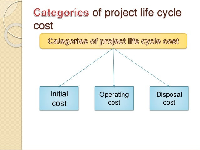 what is life cycle costing pdf