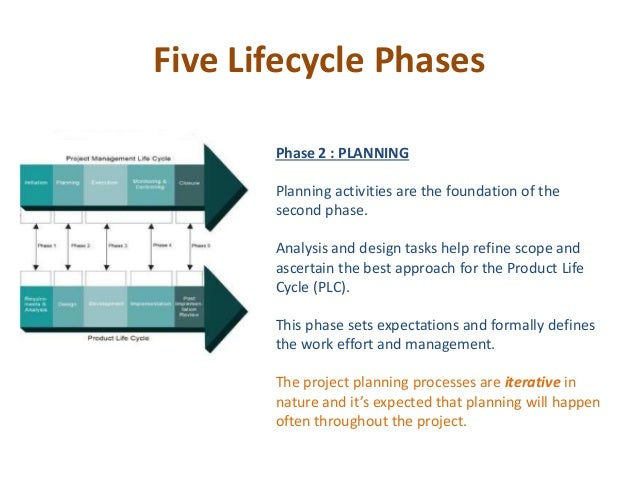 Project lifecycle in IT industry