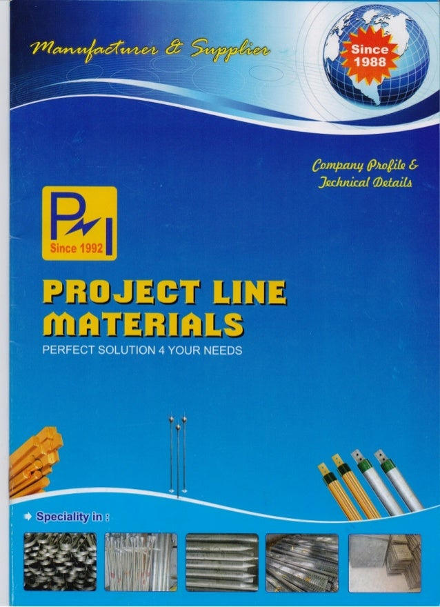 Projectline Materials, Vadodara, Electrical, Earthing and Aluminium Products