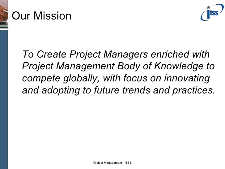 Project Managment Program Slide 2