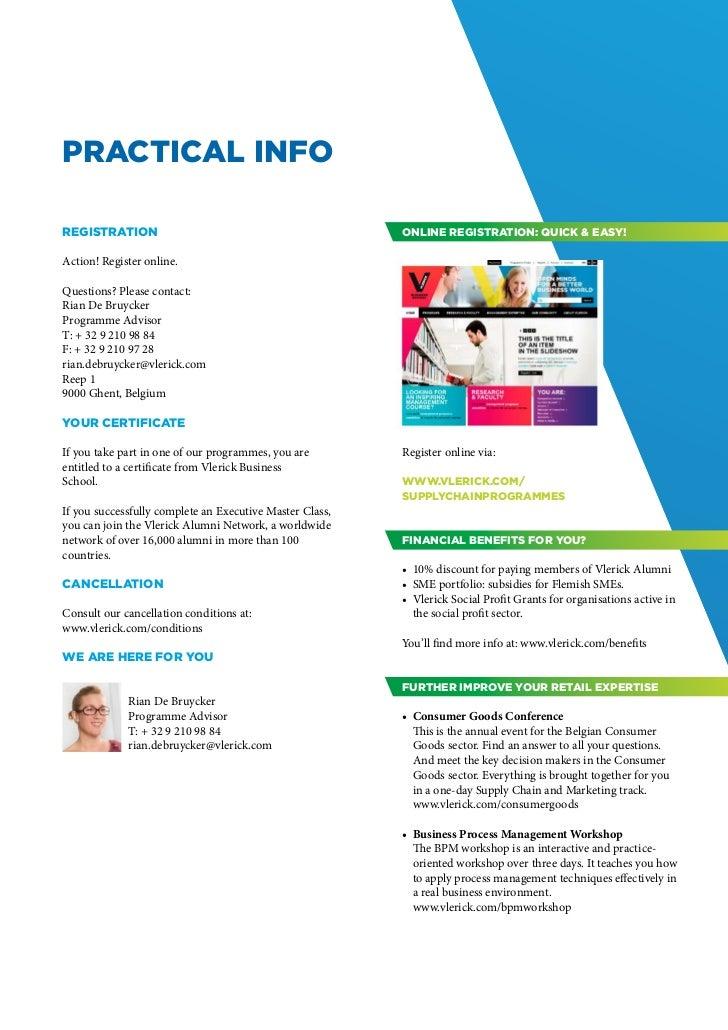 Brochure Project management,